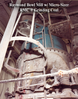 coal mill with Micro Sizer RMC air classifier